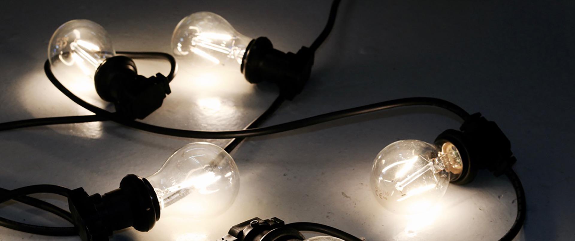 Phase 1 Electrical Festoon Lighting